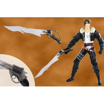 Final Fantasy Cutting Trigger Functional Gunblade with authenticate details