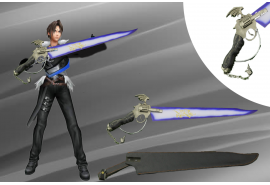 Lionheart Winged Gunblade of Squall