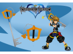 Sora Keyblade Replica Small version available for sale
