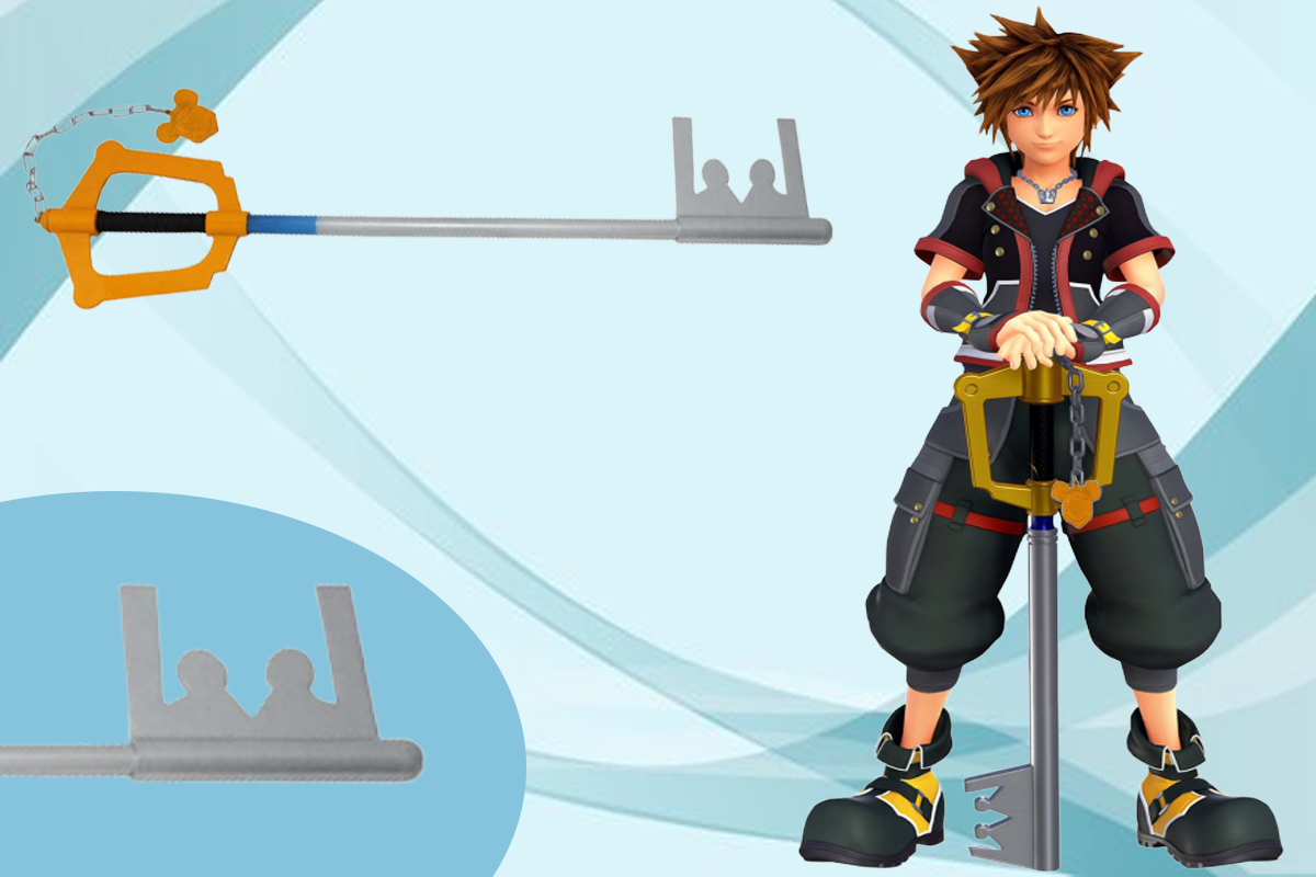 Superb Sora's Keyblade with blade is up for sale