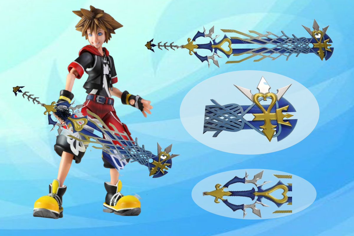 Ultima Weapon Keyblade Replica available for sale