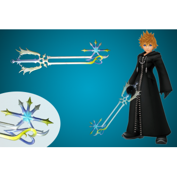 Amazing Oathkeeper Keyblade is available for sale