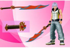 100% high quality Soul Eater Keyblade