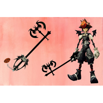 pumpkinhead keyblade with authenticate details