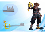Kingdom key D Sora Keyblade