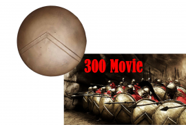 300 Movie Spartan Shield Replica