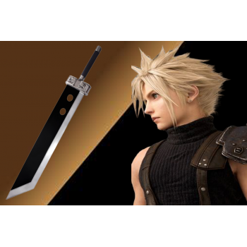 ff7 crisis core buster sword construted with high quality stainless steel