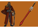 Auron Beastmaster Sword  for sale