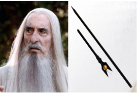 Saruman's Staff Black Edition